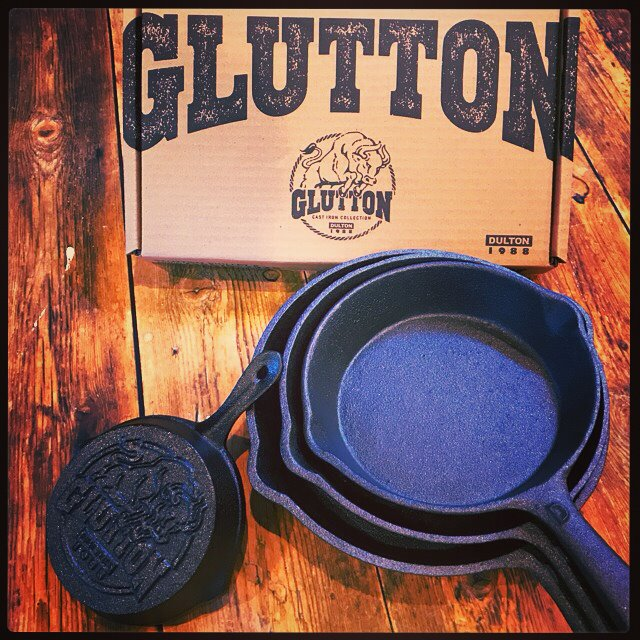 GLUTTON-cast iron collection-